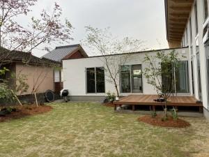 cozy 人吉市 風薫る庭 植栽